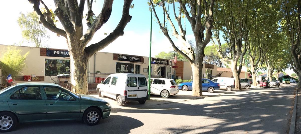parking boutiques de la gare